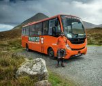 The Hairy Coo coach and driver-guide
