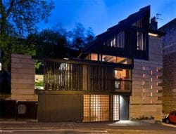 Architectural designed house - steel by Blake Group