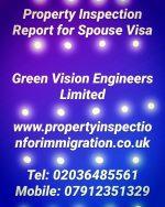 Property Inspection for Spouse Visa UK