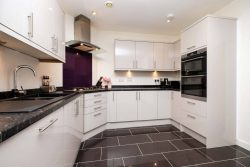 clean kitchen in flat for sale
